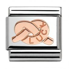 Nomination CLASSIC Rose Gold Luck Knot Charm 430101/27
