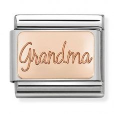 Nomination CLASSIC Rose Gold Plates Grandma Charm 430101/36
