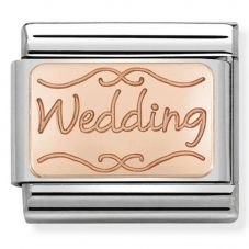 Nomination CLASSIC Rose Gold Plates Wedding Charm 430101/40