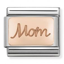 Nomination CLASSIC Rose Gold Plates Mom Charm 430101/33