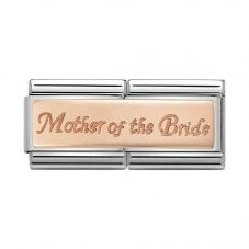 Nomination CLASSIC Rose Gold Double Engraved Mother Of Bride Charm 430710/07