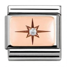 Nomination CLASSIC Rose Gold Point of Light Charm 430303/05