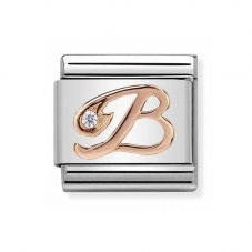 Nomination CLASSIC Rose Gold Letters B Charm 430310/02