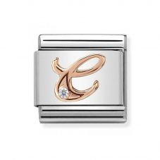 Nomination CLASSIC Rose Gold Letters C Charm 430310/03