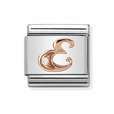 Nomination CLASSIC Rose Gold Letters E Charm 430310/05