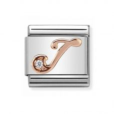 Nomination CLASSIC Rose Gold Letters J Charm 430310/10