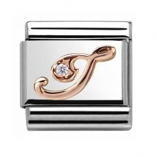 Nomination CLASSIC Rose Gold Letter I Charm 430310/09