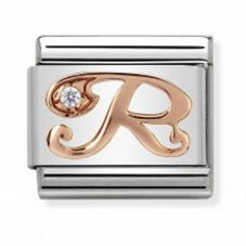 Nomination CLASSIC Rose Gold Letter R Charm 430310/18
