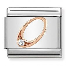 Nomination CLASSIC Rose Gold Number 0 Charm 430315/00