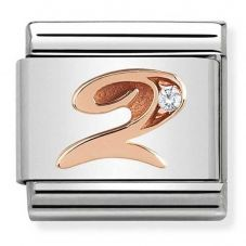 Nomination CLASSIC Rose Gold Number 2 Charm 430315/02