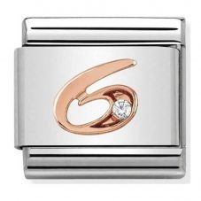 Nomination CLASSIC Rose Gold Number 6 Charm 430315/06