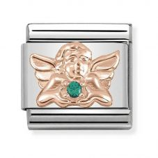 Nomination CLASSIC Rose Gold Symbols Angel Of Good Luck Charm 430302/22