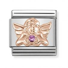 Nomination CLASSIC Rose Gold Symbols Angel Of Friendship Charm 430302/24