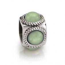 Nomination Cubiamo Jade Sage Cube Charm 163303/005