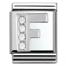 Nomination BIG Silvershine Letter F Charm 332301/06