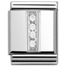 Nomination BIG Silvershine Alphabet I Charm 332301/09