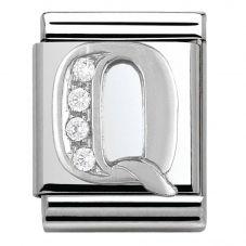 Nomination BIG Silvershine Letter Q Charm 332301/17