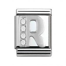 Nomination BIG Silvershine Letter R Charm 332301/18