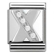 Nomination BIG Silvershine Alphabet X Charm 332301/24