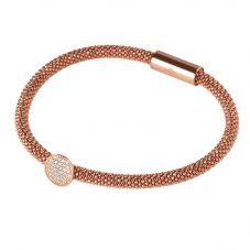 Links of London Star Dust Rose Gold Vermeil Bead Bracelet 5010.2489