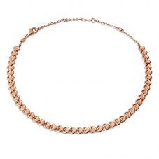 Links of London Endless Hearts Rose Gold Vermeil Choker 5020.3972