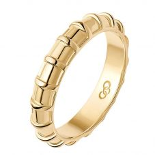 Links of London Brutalist 18ct Gold Vermeil Caged Band Ring 5045.7813(N)