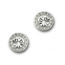 Swarovski Angelic Round Clear Crystal Studs 1081942