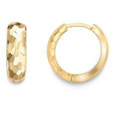 9ct Yellow Gold Hoop Earrings ER970
