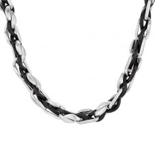 Bourne and Wilde Mens Woven Necklace SCN-3014