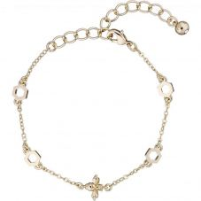 Ted Baker Beddia Bee Gold Finish Chain Bracelet TBJ2242-30-03
