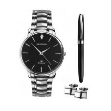 Sekonda Mens Three Piece Jewellery & Watch Set 1485G
