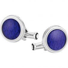 Montblanc Meisterstuck Le Petit Prince Blue Foxhead Cufflinks 118594