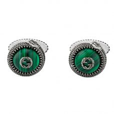 Gucci Gucci Garden Silver Kingsnake Cufflinks YBE57742600100U