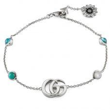 Gucci GG Marmont Silver Bracelet YBA527393001