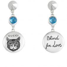 Gucci Blind 4 Love Drop Earrings YBD50210600100U