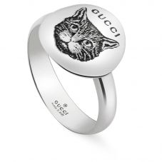 Gucci Blind 4 Love Silver Ring YBC502135001013