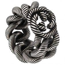 Gucci Interlocking G Aged Silver Ring YBC5997400010