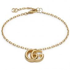 Gucci GG Running 18ct Gold Bracelet YBA501676001018