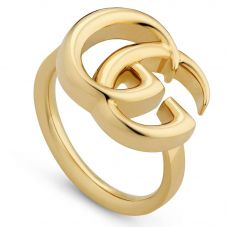 Gucci GG Running 18ct Gold Ring YBC525686001015