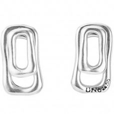 UNOde50 'Trapped' Stud Earrings PEN0594MTL0000U