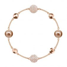 Swarovski Remix Large Rose Gold Tone Bead Bracelet 5451040