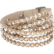 Swarovski Power Brown Crystal Multi Row Bracelet 5494230