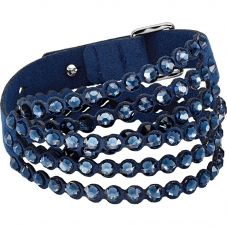Swarovski Power Blue Crystal Multi Row Bracelet 5511697