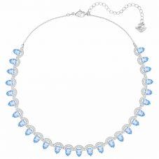 Swarovski Gallery Blue All Around Crystal Necklace 5277514