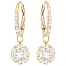 Swarovski Sparkling Dance Rose Gold Tone Drop Earrings 5272367