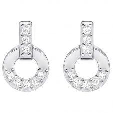 Swarovski Circle Stud Earrings 5349195