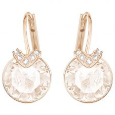 Swarovski Bella V Rose Gold Tone Earrings 5299318