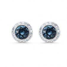 Swarovski Angelic Round Blue Crystal Stud Earrings 5536770