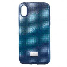 Swarovski Crystalgram Blue IPhone XS Max Case 5533972