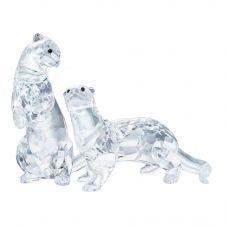 Swarovski Otters Figurine 5385060